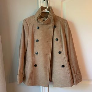 Brown/tan button up jacket